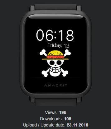 Amazfit米動手錶私藏錶盤-14