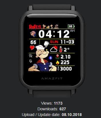Amazfit米動手錶私藏錶盤-20