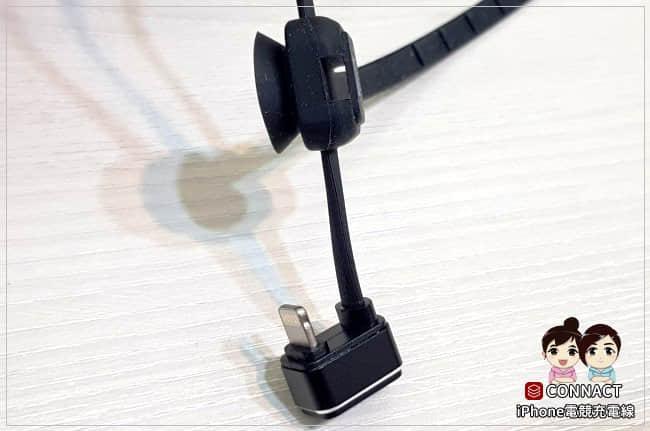 CONNACT iPhone 180度彎頭充電線-01