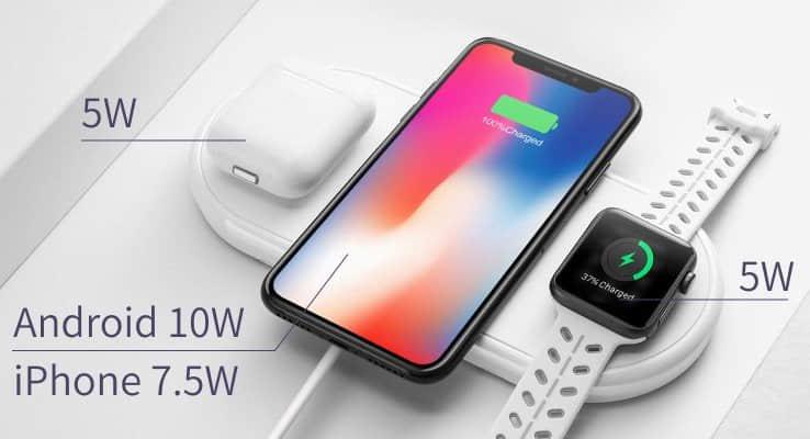 Aplle三合一無線充電盤,iPhone、Airpods、AppleWatch 可同時無線充電-04